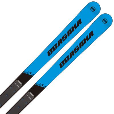 OGASAKA オガサカ スキー板 2020 TRIUN トライアン GS + FL585 + 18 XCELL 16.0 WT/BK/RD 金具付き・取付送料無料 19-20 NEWモデル