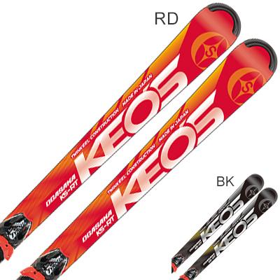 【エントリでP10&初売りセール!】【最安値に挑戦中】OGASAKA オガサカ スキー板 2020 KEO'S ケオッズ KS-RT + PRD 12 GW 金具付き・取付送料無料 19-20 NEWモデル
