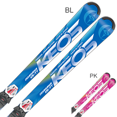 【エントリでP10&初売りセール!】【最安値に挑戦中】OGASAKA オガサカ スキー板 2020 KEO'S ケオッズ KS-TT + SLR 10 GW 金具付き・取付送料無料 19-20 NEWモデル