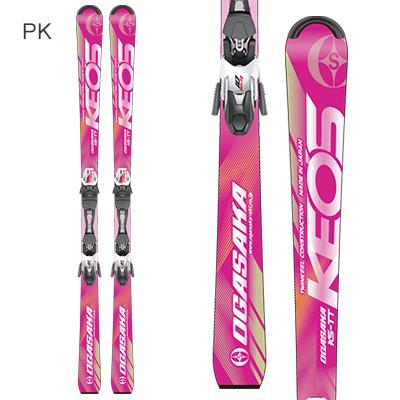【19-20 NEWモデル 予約受付中】OGASAKA〔オガサカ スキー板〕<2020>KEO'S〔ケオッズ〕KS-TT + SLR 10 GW【金具付き・取付】