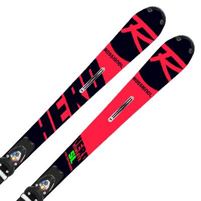 ROSSIGNOL ロシニョール スキー板 2020 HERO ATHLETE FIS SL R22 + SPX 15 ROCKER RACE BLOCKER Black Icon 19-20 NEWモデル ビンディング セット 取付無料