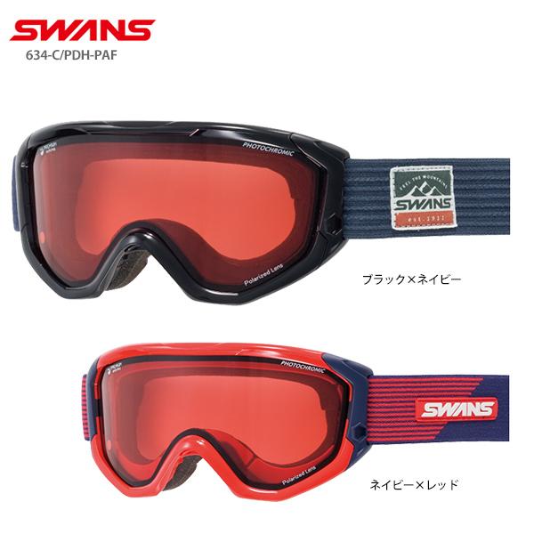 SWANS スワンズ スキーゴーグル 2020 634-C/PDH-PAF 19-20