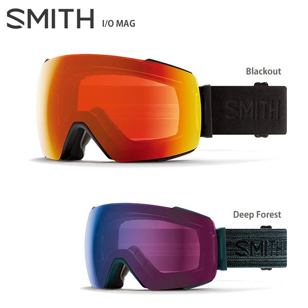 【19-20 NEWモデル】SMITH 〔スミス スキーゴーグル〕<2020>I/O MAG〔アイオーマグ〕【調光】【送料無料】