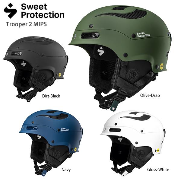 Sweet Protection スウィートプロテクション スキーヘルメット 2020 Trooper 2 MIPS 送料無料 19-20 NEWモデル