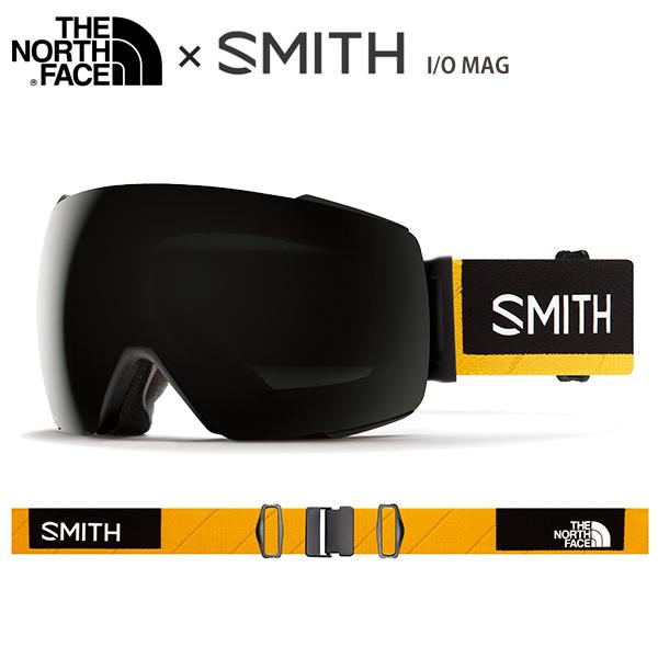 【19-20 NEWモデル】SMITH 〔スミス スキーゴーグル〕<2020>I/O MAG〔アイオーマグ〕〔AC Austin Smith × The North Face〕【送料無料】
