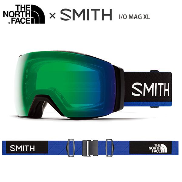 SMITH スミス スキーゴーグル 2020 I/O MAG XL アイオーマグXL Smith × The North Face / Blue 送料無料 19-20 NEWモデル