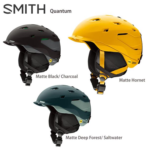 【エントリでP10&初売りセール!】SMITH スミス スキーヘルメット 2020 Quantum Mips クウォンタム 送料無料 19-20 NEWモデル