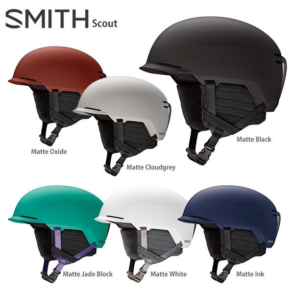 【ポイント5倍!】【19-20早期予約】SMITH〔スミス スキーヘルメット〕<2020>Scout〔スカウト〕