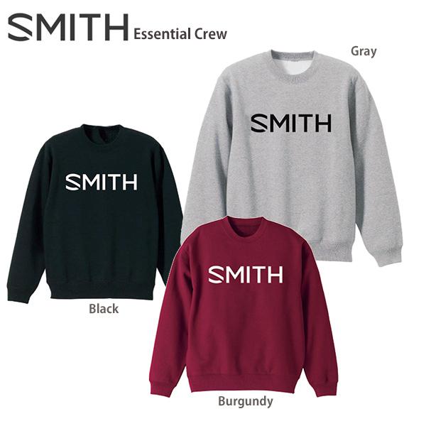 【19-20 NEWモデル】SMITH〔スミス スウェット トレーナー〕<2020>ESSENTIAL CREW