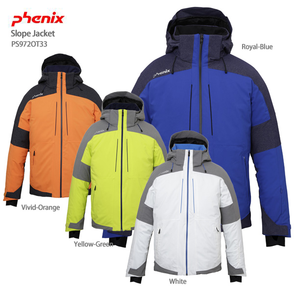 PHENIX フェニックス スキーウェア ジャケット 2020 Slope Jacket /PS972OT33 送料無料 19-20