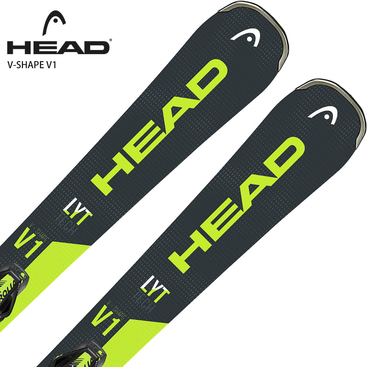 【エントリでP10&初売りセール!】HEAD〔ヘッド ショートスキー板〕<2020> V-SHAPE V1 + SLR Pro + SLR 9.0 GW【金具付き・取付送料無料】
