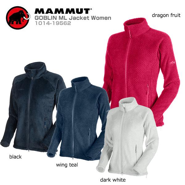 MAMMUT〔マムート ミドルレイヤー フリース レディース〕<2020>GOBLIN ML Jacket Women/1014-19562
