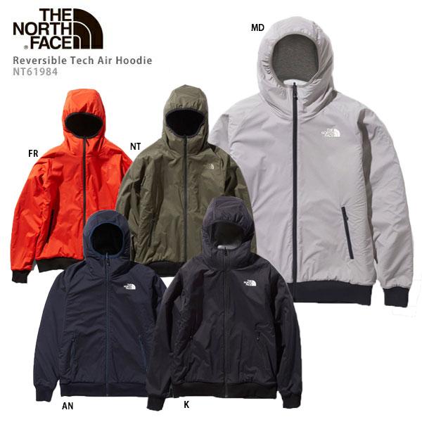 THE NORTH FACE〔ザ・ノースフェイス ミドルレイヤー メンズ〕<2020>Reversible Tech Air Hoodie〔リバーシブルテックエアーフーディー〕NT61984  NEWモデル