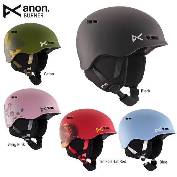 【エントリでP10&初売りセール!】ANON アノン ジュニアスキーヘルメット 2020 BURNER 19-20 NEWモデル