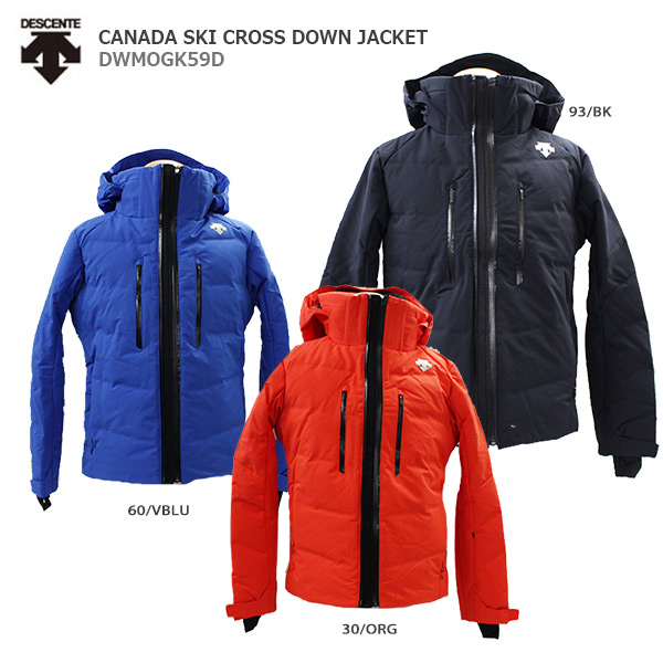 【エントリでP10&初売りセール!】DESCENTE〔デサント スキーウェア ジャケット〕<2020>CANADA SKI CROSS DOWN JACKET /DWMOGK59D【送料無料】 19-20 NEWモデル