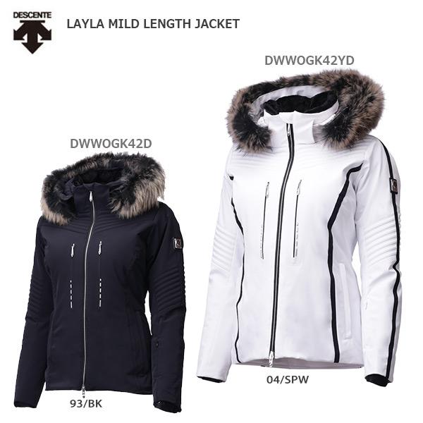 DESCENTE〔デサント スキーウェア レディース ジャケット〕<2020>LAYLA MILD LENGTH JACKET/DWWOGK42 送料無料 19-20 NEWモデル