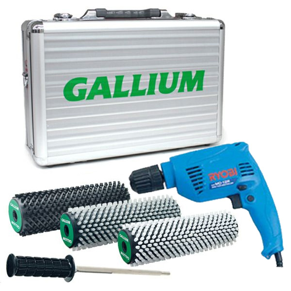 GALLIUM〔ガリウム ロトブラシセット〕ロトブラシ&ドリルセット〔アルミケース付き〕/000130