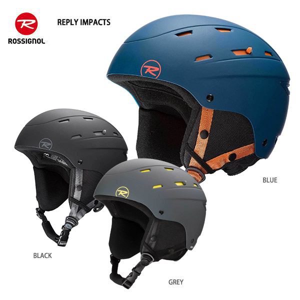 20-21 旧モデル ヘルメット スキー スノー スノーボード ブランド激安セール会場 スノボ ROSSIGNOL ※ラッピング ※ REPLY メンズ IMPACTS 2021 ロシニョール レディース