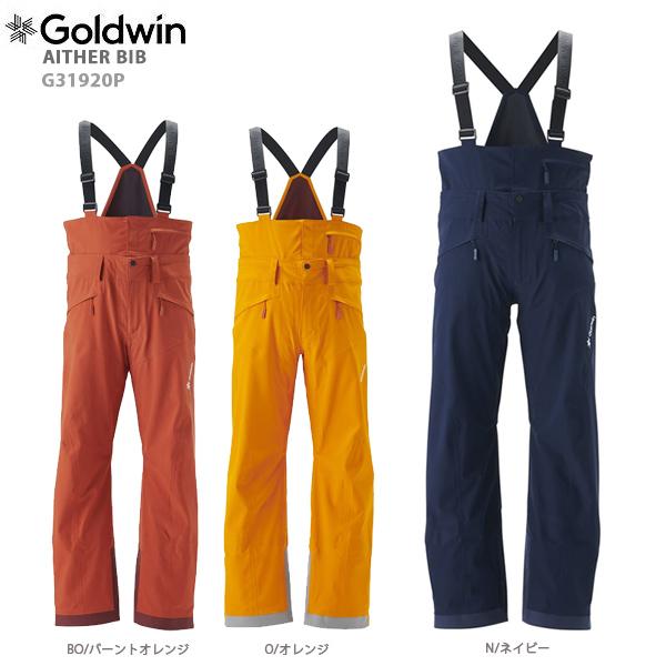 GOLDWIN〔ゴールドウィン スキーウェア パンツ〕<2020>AITHER BIB G31920P 送料無料 19-20 NEWモデル