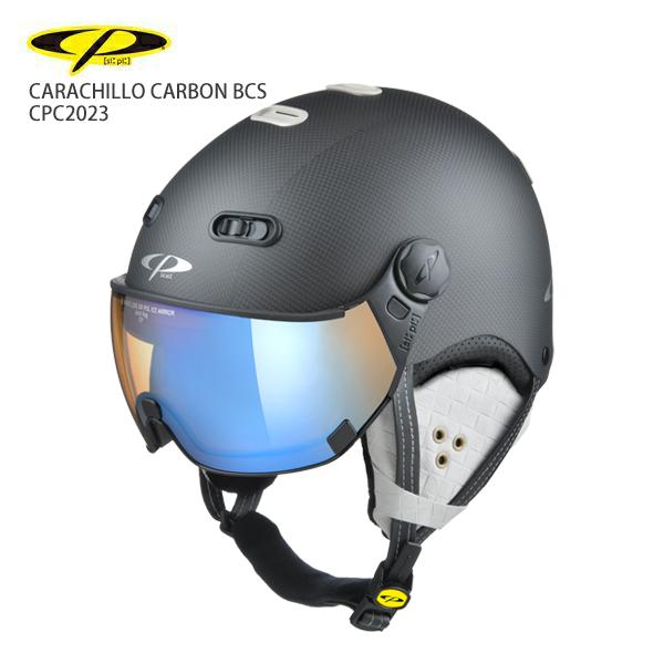 早期予約受付中 CP〔シーピー スキーヘルメット〕<2021>CARACHILLO CARBON BCS/ CPC2023 バイザー付き