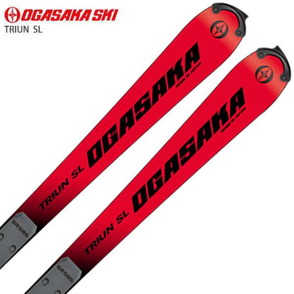 OGASAKA オガサカ スキー板 <2021>TRIUN トライアン SL + SR585 + <21>RX 12 GW ビンディング セット 取付無料 NEWモデル