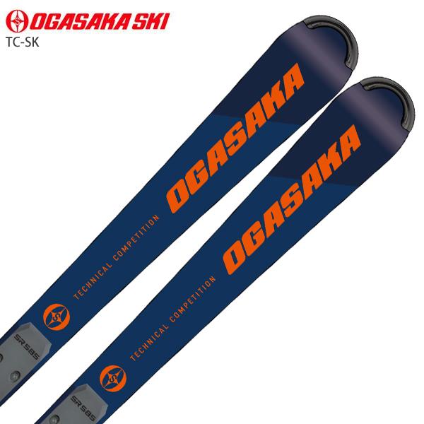OGASAKA オガサカ スキー板 <2021>TC ティーシー TC-SK + SR585 + <20>FREEFLEX EVO 16 ビンディング セット 取付無料 NEWモデル