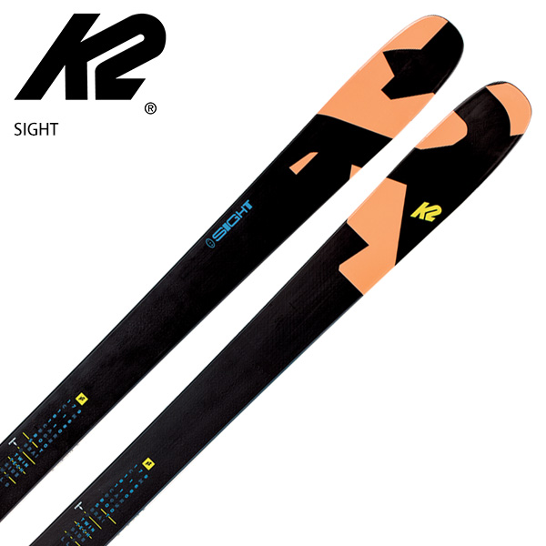 スキー板 K2 ケーツー <2021> SIGHT サイト + <20>GRIFFON 13 ID ビンディング セット 取付無料 20-21 旧モデル