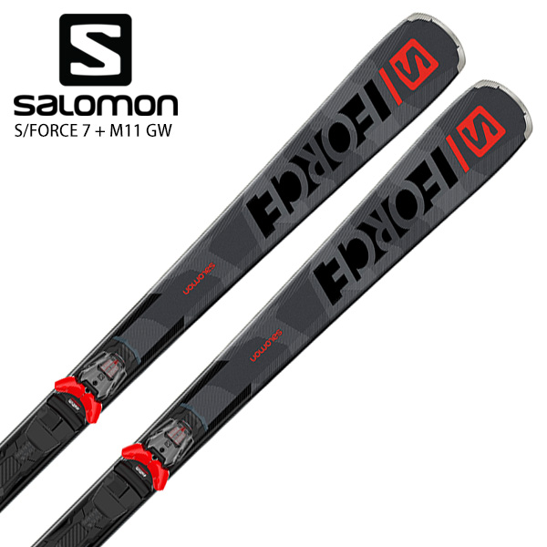 SALOMON サロモン スキー板 <2021> S/FORCE 7 + M11 GW ビンディング セット 取付無料 NEWモデル