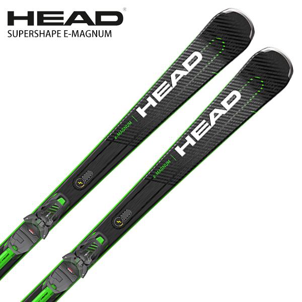 HEAD ヘッド スキー板 <2021> SUPERSHAPE E-MAGNUM スーパーシェイプ マグナム + Superflex PR + PRD 12 GW ビンディング セット 取付無料 NEWモデル