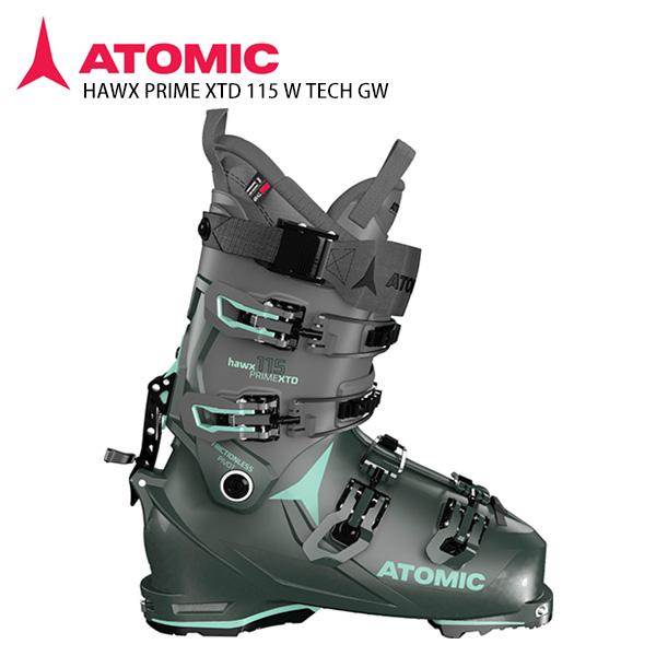 早期予約受付中 ATOMIC アトミック スキーブーツ <2021> HAWX PRIME XTD 115 W TECH GW〔ホークス プライム XTD 115 W TECH GW〕