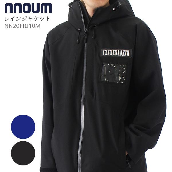 レインジャケット メンズ mens 20-21 MEN NNOUM ノアム 2021 NN20FRJ10M カッパ 雨具 耐水圧20000mm 4WAYストレッチ