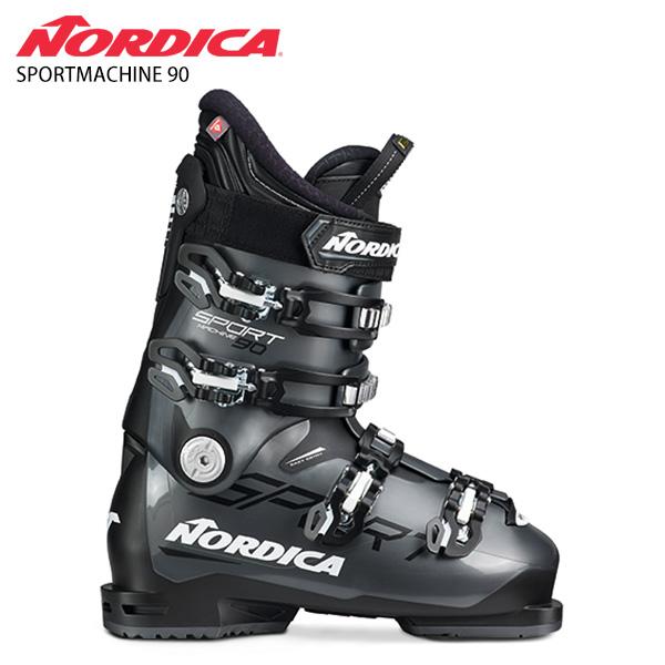 【39ショップ限定!エントリーでP3倍 8/24 9:59まで】NORDICA ノルディカ スキーブーツ <2021> SPORTMACHINE 90 スポーツマシン 90 20-21 NEWモデル メンズ レディース