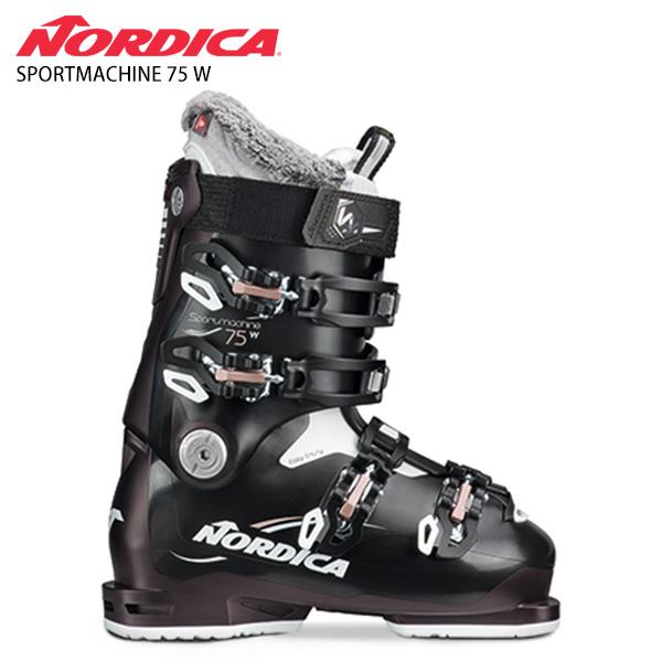 【39ショップ限定!エントリーでP3倍 8/24 9:59まで】NORDICA ノルディカ レディース スキーブーツ <2021> SPORTMACHINE 75 W スポーツマシン 75 W 20-21 NEWモデル レディース