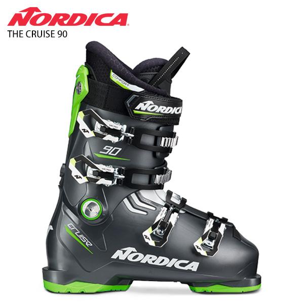 【39ショップ限定!エントリーでP3倍 8/24 9:59まで】NORDICA ノルディカ スキーブーツ <2021> THE CRUISE 90 ザ クルーズ 90 20-21 NEWモデル メンズ レディース