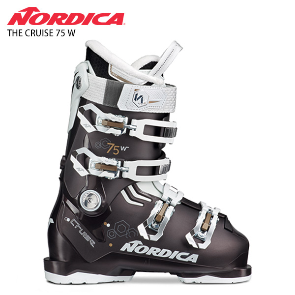 【39ショップ限定!エントリーでP3倍 8/24 9:59まで】NORDICA ノルディカ レディース スキーブーツ <2021> THE CRUISE 75 W ザ クルーズ 75 W 20-21 NEWモデル レディース