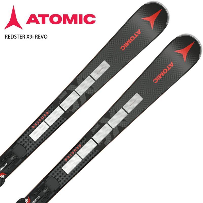 エントリでP9倍 11日1時59分までATOMIC アトミック スキー板 2022 REDSTER X9i お得クーポン発行中 REVO セット 12 ビンディング 取付無料 NEWモデル21-22 GW おすすめ X +