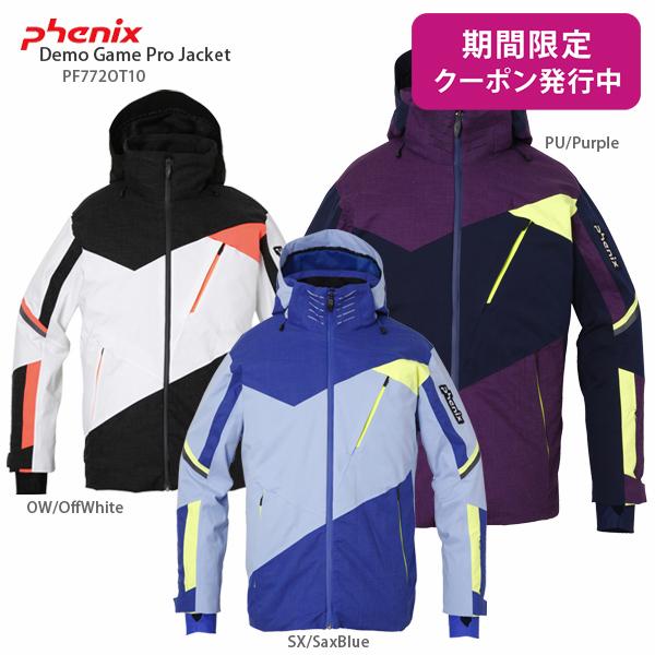 PHENIX〔フェニックス スキーウェア ジャケット〕<2018>Demo Game Pro Jacket PF772OT10 【送料無料】【技術選着用モデル】【MUJI】【SLTT】〔SA〕