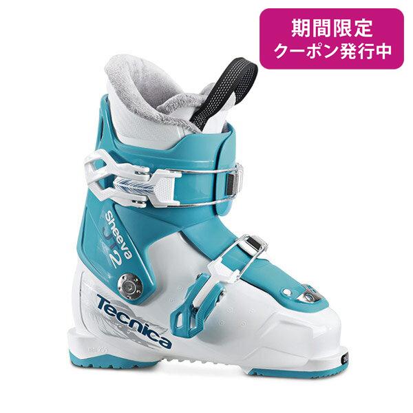 TECNICA 〔テクニカ ジュニア キッズ スキーブーツ〕<2018>JT 2 SHEEVA〔WHITE/BLUE〕