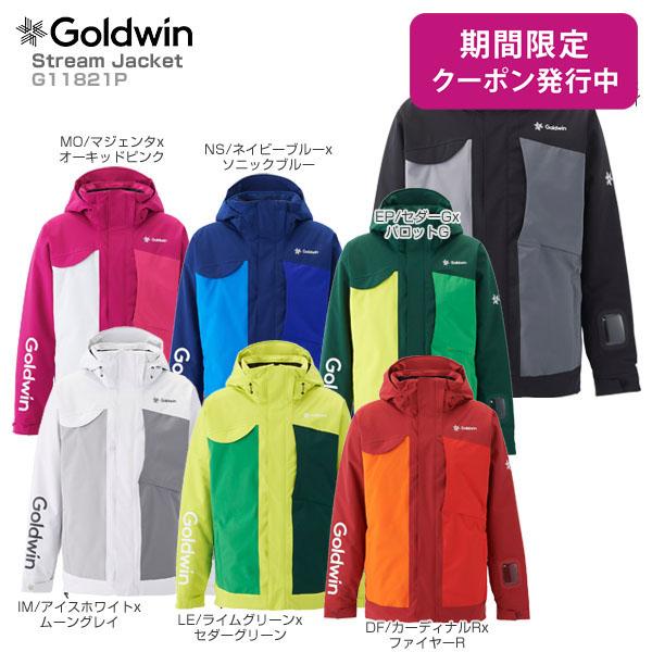 GOLDWIN〔ゴールドウィン スキーウェア ジャケット〕<2019>Stream Jacket G11821P【送料無料】【MUJI】