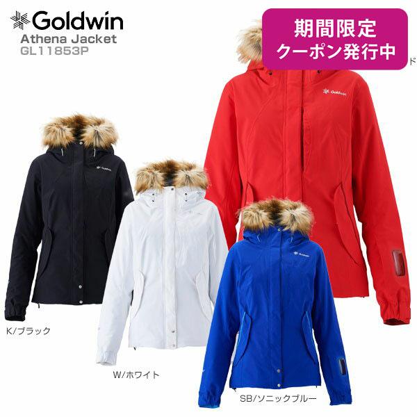 GOLDWIN〔ゴールドウィン スキーウェア レディース ジャケット〕<2019>Athena Jacket GL11853P【GORE-TEX】【送料無料】【MUJI】