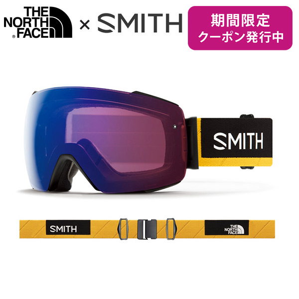 SMITH 〔スミス スキーゴーグル〕<2019>I/O MAG〔アイオーマグ〕〔Austin Smith × The North Face〕【スペアレンズ付】【コラボゴーグルバッグ付】【送料無料】
