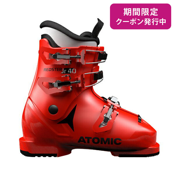 【19-20 NEWモデル】ATOMIC〔アトミック ジュニア キッズ スキーブーツ〕<2020>REDSTER JR 40〔Red/Black〕 新作 最新