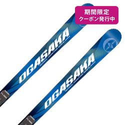 OGASAKA〔オガサカ スキー板〕<2019>TC〔ティーシー〕TC-LA + FL585 + <19>XCELL 12.0 BK/WH/RD【金具付き・取付送料無料】