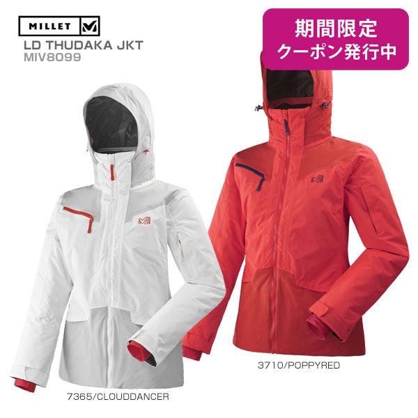 MILLET〔ミレー スキーウェア レディース ジャケット〕<2019>LD THUDAKA JKT/MIV8099【送料無料】
