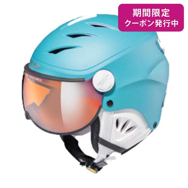 CP〔シーピー ジュニア スキーヘルメット〕<2019>CP CAMULINO RBW CPC1933〔リバーブルー / ホワイト〕 【送料無料】