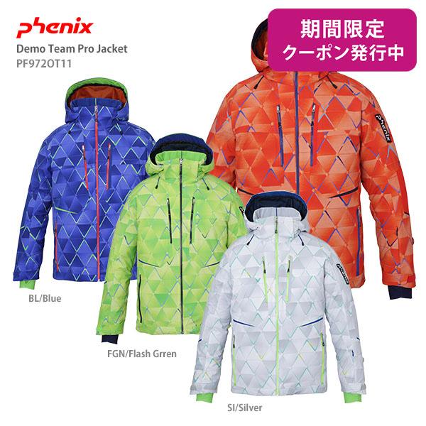 【19-20 NEWモデル】PHENIX〔フェニックス スキーウェア ジャケット〕<2020>Demo Team Pro Jacket PF972OT11【技術選着用モデル】【送料無料】