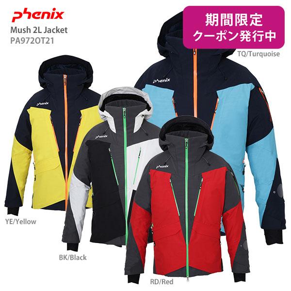 【19-20 NEWモデル】PHENIX〔フェニックス スキーウェア ジャケット〕<2020>Mush 2L Jacket PA972OT21【F】【送料無料】