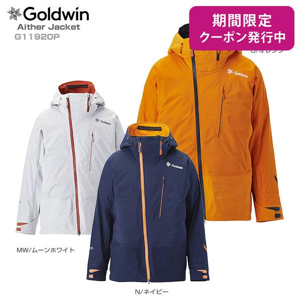 【19-20 NEWモデル】GOLDWIN〔ゴールドウィン スキーウェア ジャケット〕<2020>Aither Jacket G11920P【GORE-TEX】【送料無料】