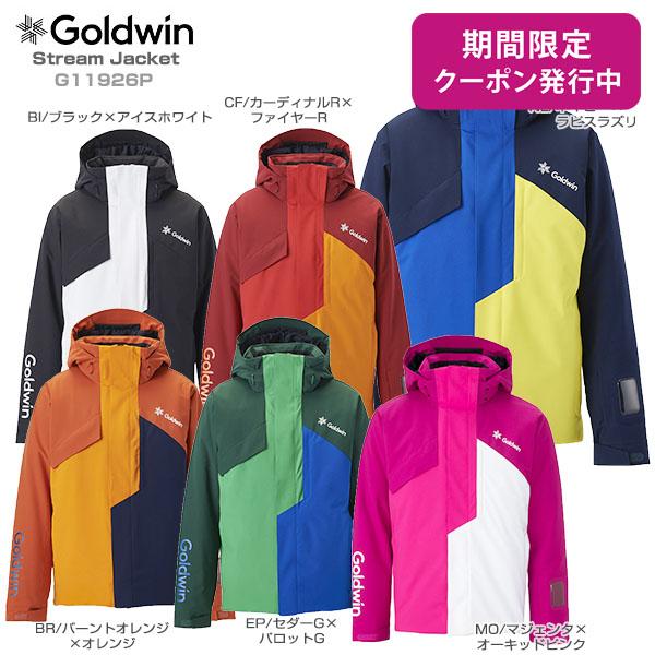 【19-20 NEWモデル】GOLDWIN〔ゴールドウィン スキーウェア ジャケット〕<2020>Stream Jacket G11926P【送料無料】