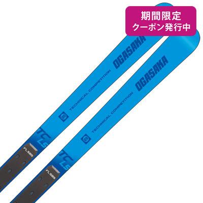 【19-20 NEWモデル】OGASAKA〔オガサカ スキー板〕<2020>TC〔ティーシー〕TC-LS + FL585【板とプレートのみ】【送料無料】